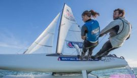 Join Team GB Nacra's road to Tokyo 2020